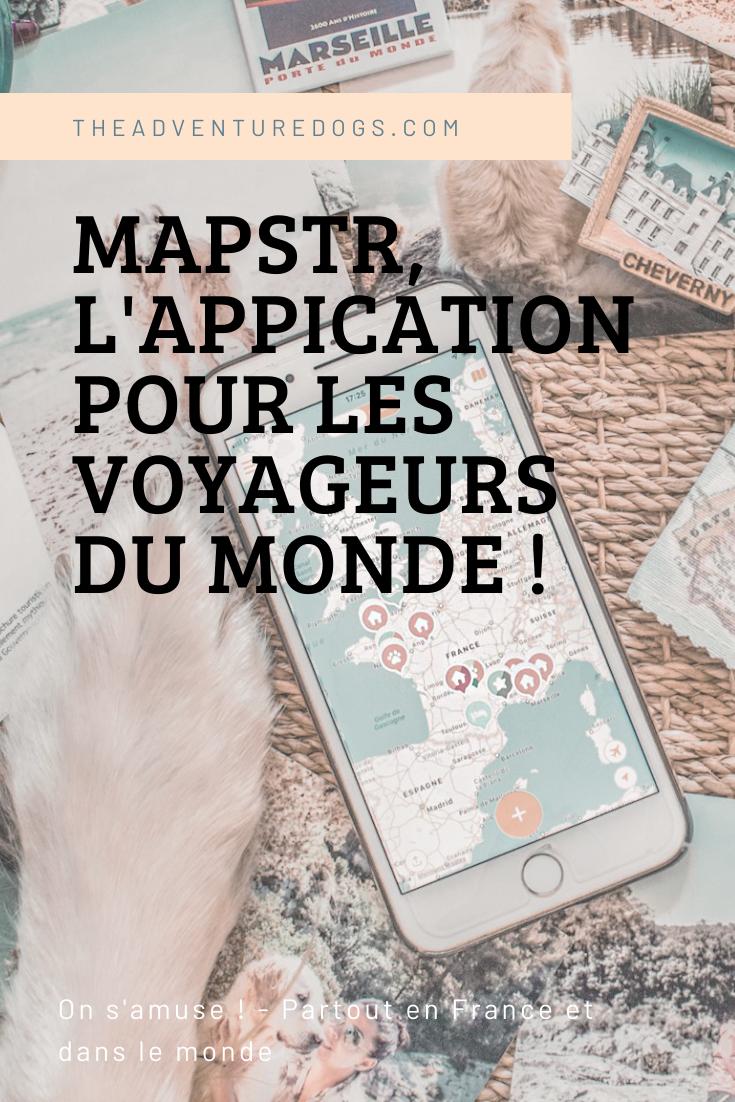 MAPSTR l'application pour les voyageurs du monde