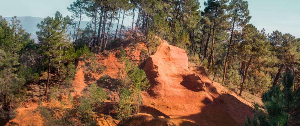 Le sentier des Ocres du Roussillon