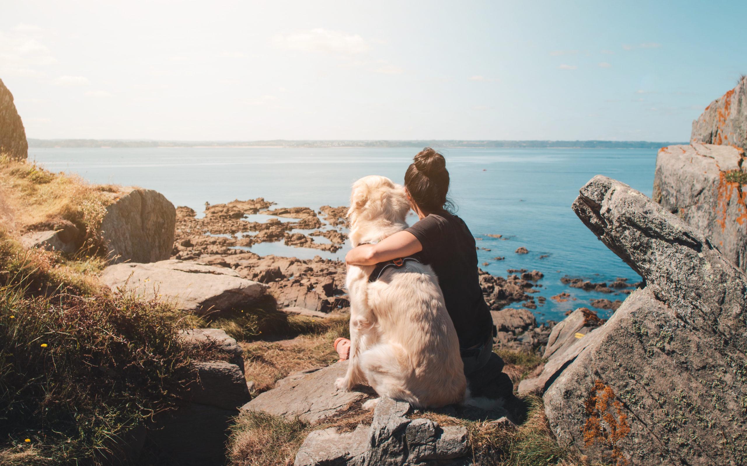Randonnée à la Pointe de Bihit avec son chien