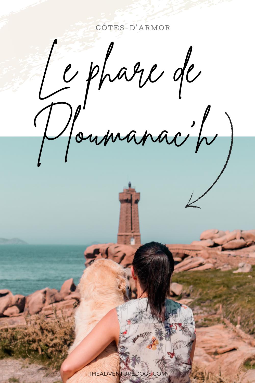 Cani-randonnée au phare de Ploumanac'h avec son chien